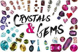 Crystals and Gems Bundle