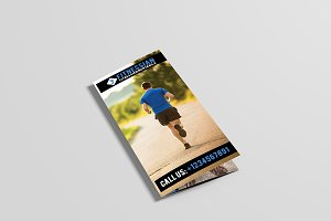 Fitnessian Tri Fold Gym Brochure