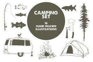 Camping adventure set