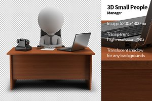 3D Small People - Manager