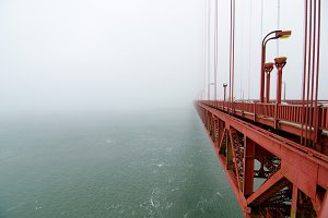 Bridge Into the Fog