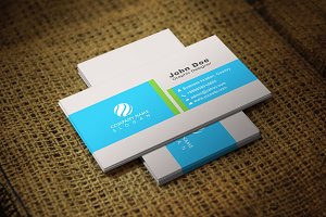 Blondia Corporate Business Card