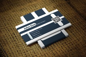 Lineal Business Card Template