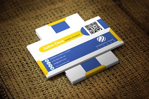 Yeblue Business Card Template