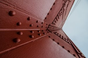 Rivets on the Golden Gate Bridge
