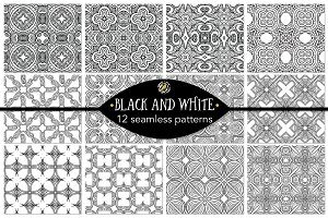 Set 2 - 12 Seamless Patterns