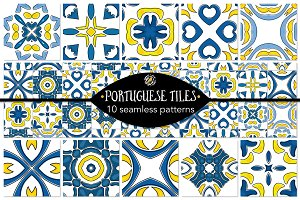 Set 4 - 10 Seamless Patterns