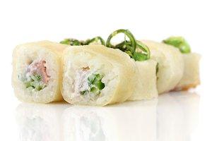 Sushi hot rolls