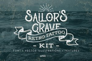 Sailor's Grave - Retro Tattoo Kit