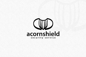 Acorn Shield Logo