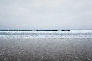 Sea minimal background
