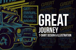 Great Journey Illustration