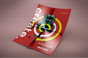 A4 Creative Flyer Mock-Up 5
