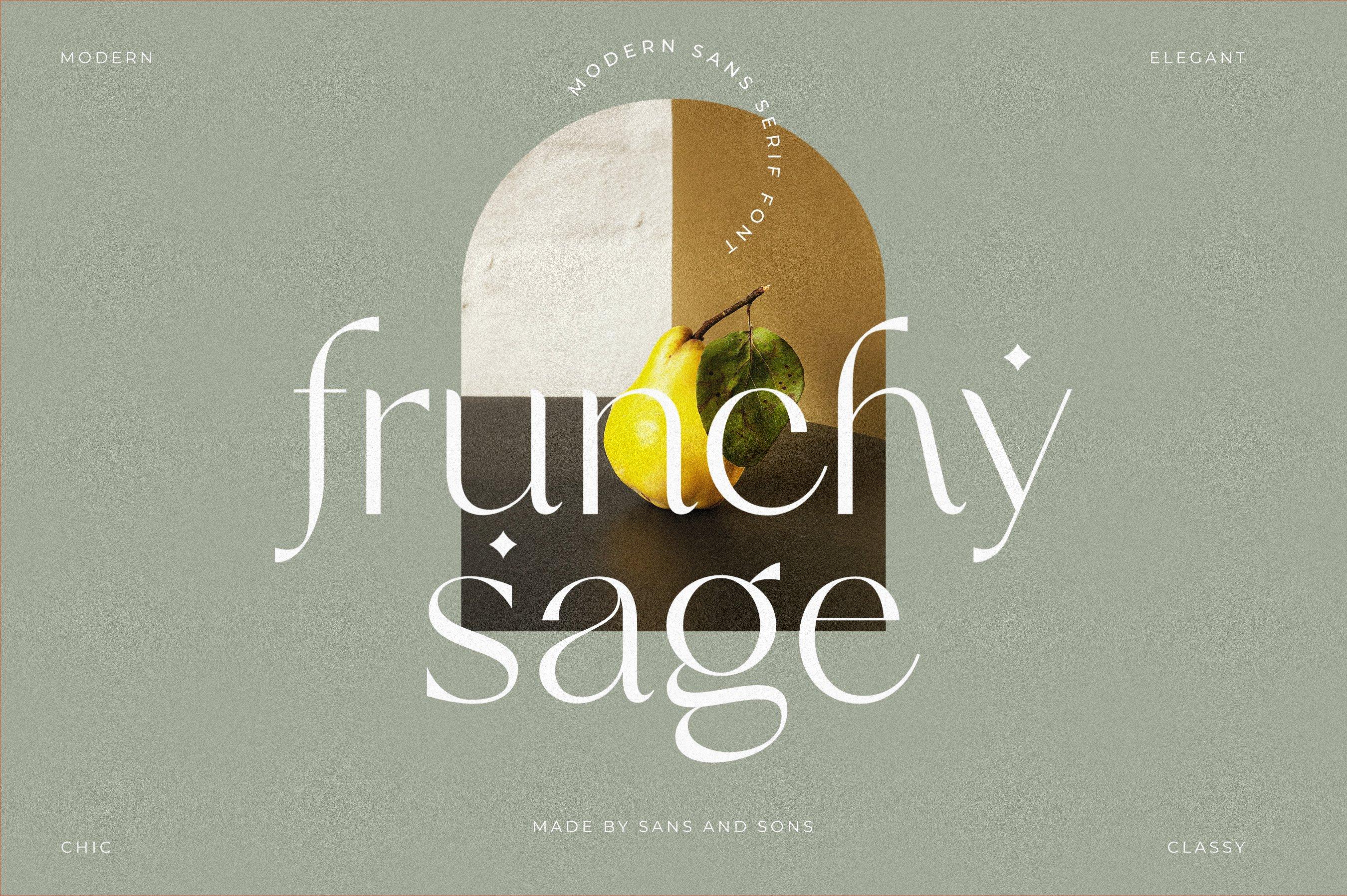 Frunchy - Modern Chic Font