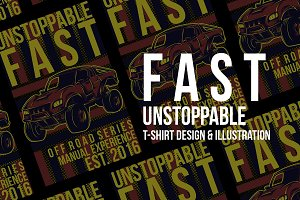 Fast Unstoppable Illustration