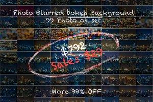 Blurred Bokeh Backgound - 99% OFF