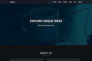 Bindu  - One Page Theme