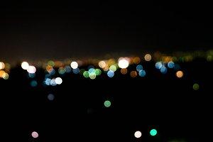City Night Lights 2 - Abstract