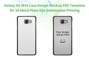 Galaxy A5 2016 2d IMD Case Mock-up