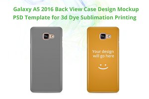 Galaxy A5 2016 3d IMD Case Mock-up
