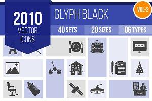 2010 Glyph Icons (V2)