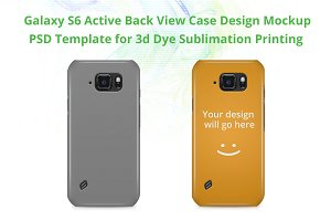 Galaxy S6 Active 3d IMD Case Mock-up