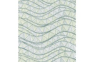 Vector Pattern with Waves and Lines