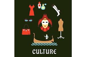 Italian culture, travel and fashion