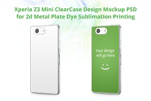 Xperia Z3 Mini ClearCase Mock-up