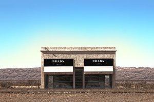 Marfa, Texas Prada Store