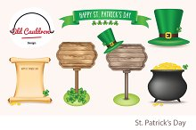 St. Patrick's Day clipart CL028