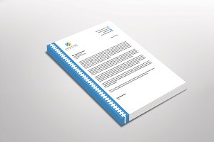 Shapelinear Letterhead Template