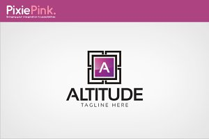 Altitude Logo Template