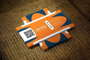 Roundish Creative Business Card