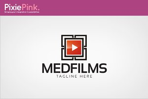 Media Films Logo Template