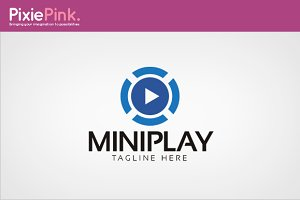 Mini Play Logo Template