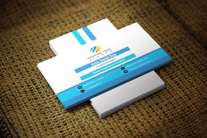 Bluesh Corporate Business Card