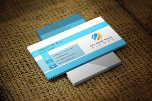 Blulight Corporate Business Card