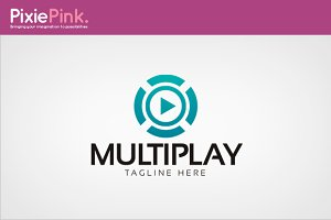 Multi Play Logo Template