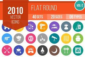 2010 Flat Round Icons (V2)