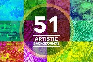 (SALE) Textures 51 Artistic Textures