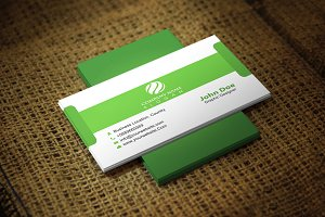 Greendow Corporate Business Card