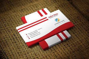 Redwash Corporate Business Card