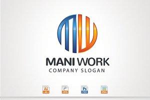 M,W Letter Logo