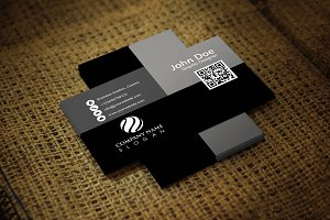 Blacka Corporate Business Card