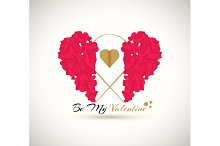Set Valentines Day. Be my Valentine