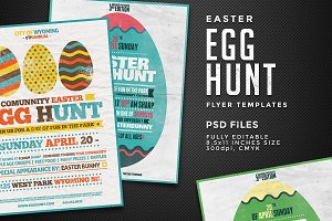 Egg Hunt Flyer Templates