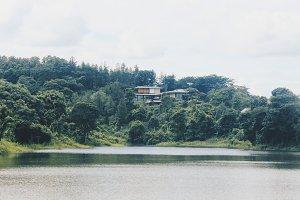 Lake and Beautifull House