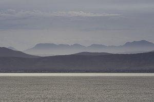 The Karoo mountains