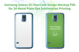Galaxy S5 2d ClearCase Mock-up